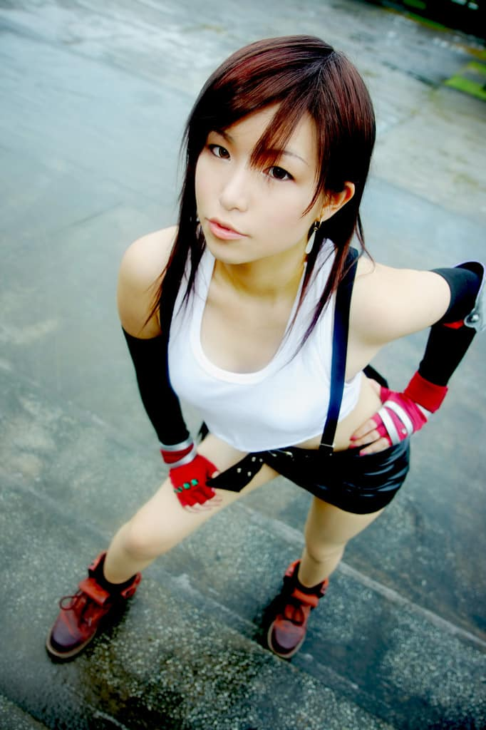Final Fantasy VII cosplay 47